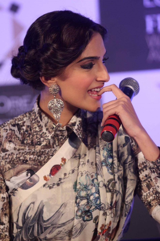 Sonam Kapoor at the 3rd edition of L'Oreal  Paris Femina Women Awards nominee announcement
