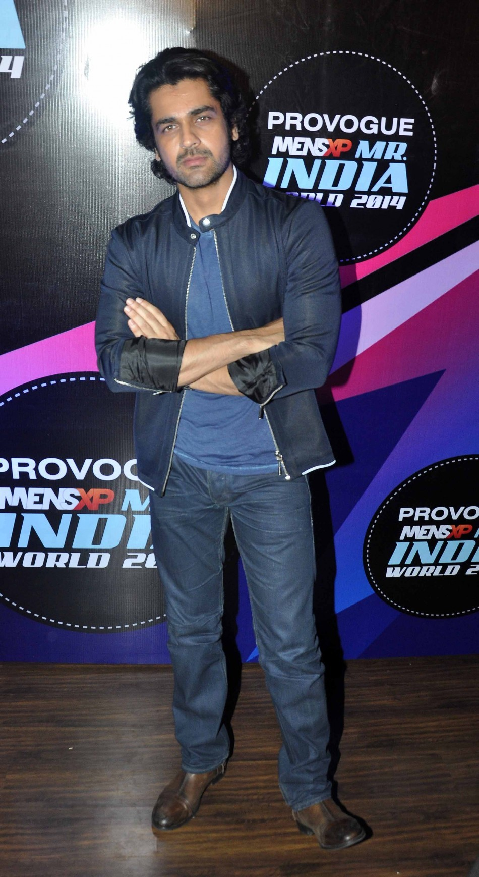Arjan Bajwa judge the first edition of  Provogue MensXP Mr. India 2014 in Mumbai