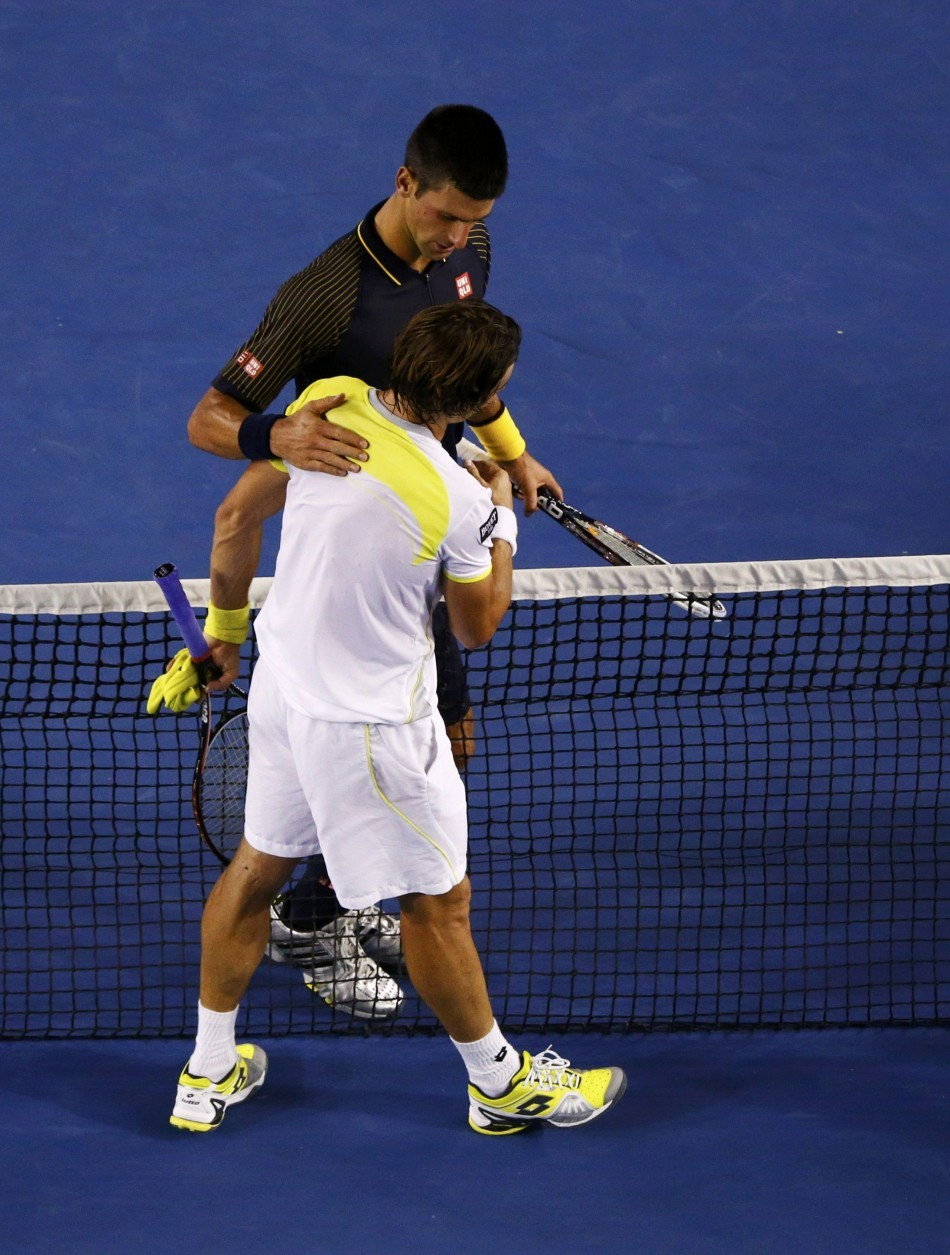 Novak Djokovic, David Ferrer