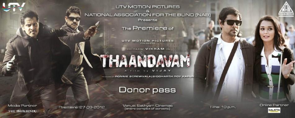 'Thaandavam' premiere donor pass