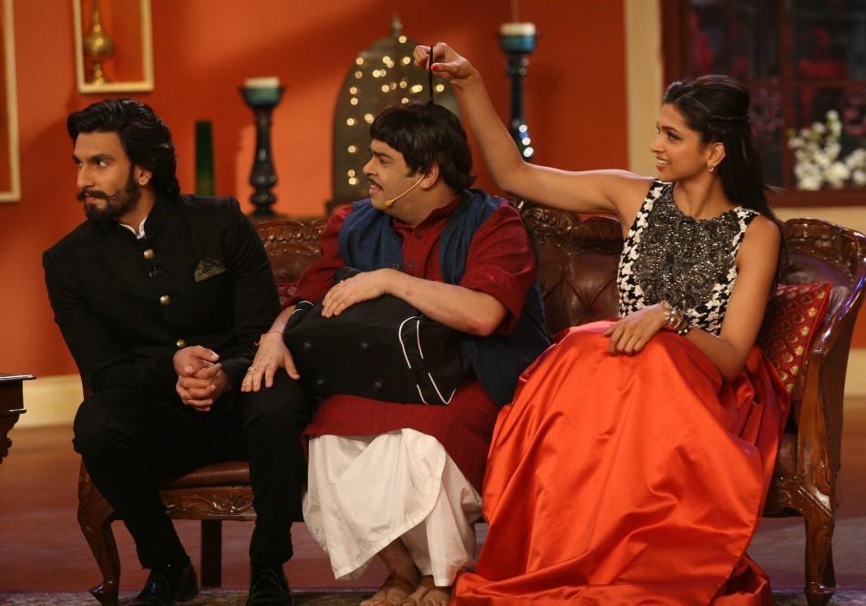 Ranveer Singh and Deepika Padukone for