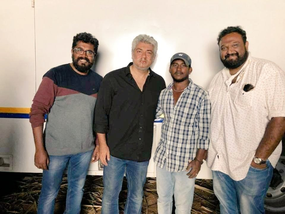 Thala Ajith,Thala Ajith Viswasam,Viswasam,Viswasam wrapped up,Viswasam shooting wrapped up,Viswasam wraps up,Ajith Viswasam wraps up