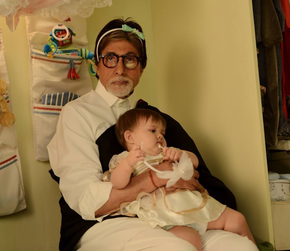 Amitabh Bachchan,little Anna,Amitabh Bachchan's day out with little Anna,Amitabh Bachchan with little Anna,actor Amitabh Bachchan,Amitabh Bachchan pics,Amitabh Bachchan images,Amitabh Bachchan stills,little Anna pics,little Anna images,little Anna stills