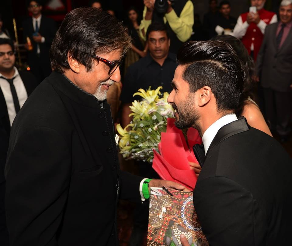 Amitabh Bachchan at Shahid Kapoor Wedding Reception,Amitabh Bachchan,actor Amitabh Bachchan,Shahid Kapoor Wedding Reception,Shahid Kapoor Wedding Reception pics,Shahid Kapoor Wedding Reception images,Shahid Kapoor Wedding Reception photos,Shahid Kapoor We