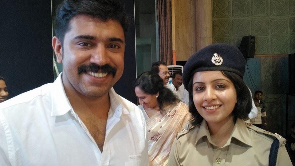 Merin Joseph,Merin Joseph IPS,Kerala IPS officer,merin jospeh ips photos,Merin Joseph with nivin pauly,Merin Joseph controversies