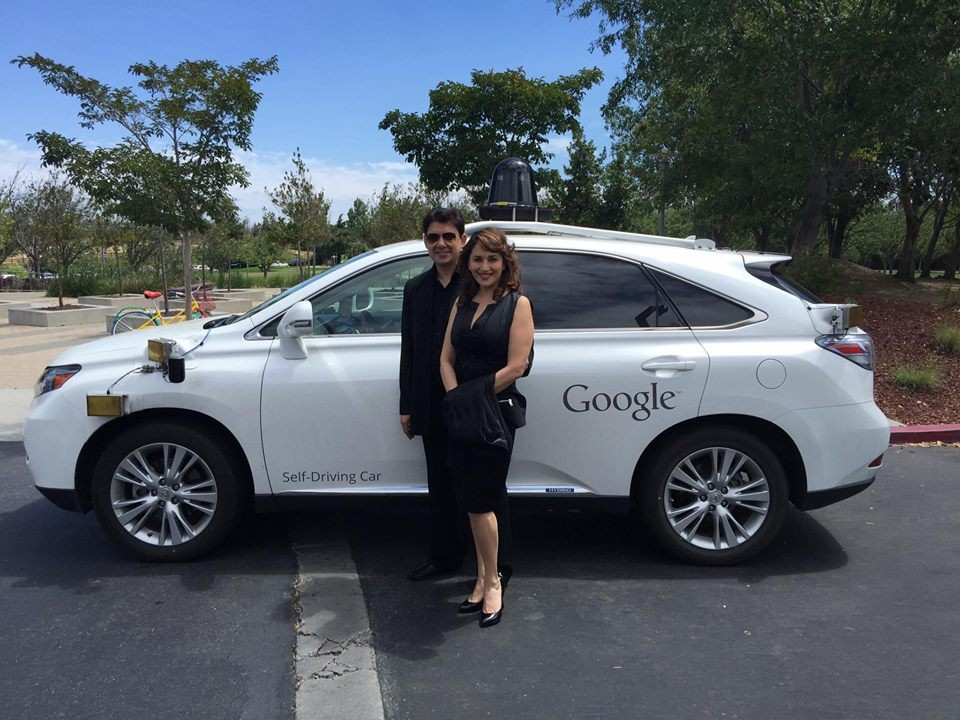 Madhuri Dixit,Madhuri Dixit new photos,Google's Self Driving Car,Google Self Driving Car