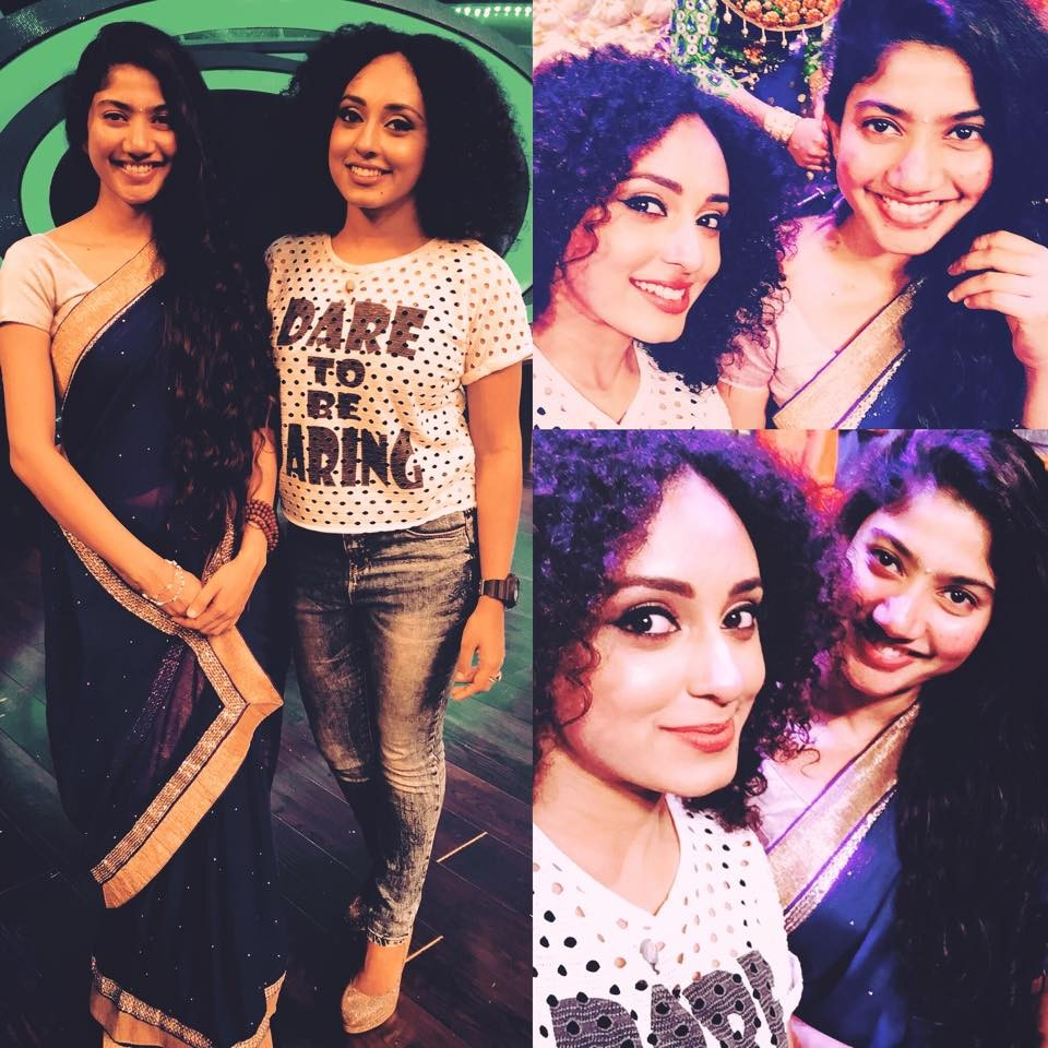 Sai pallavi,sai pallavi new,sai pallavi with GP,sai pallavi in D4,sai pallavi in D4 Dance show