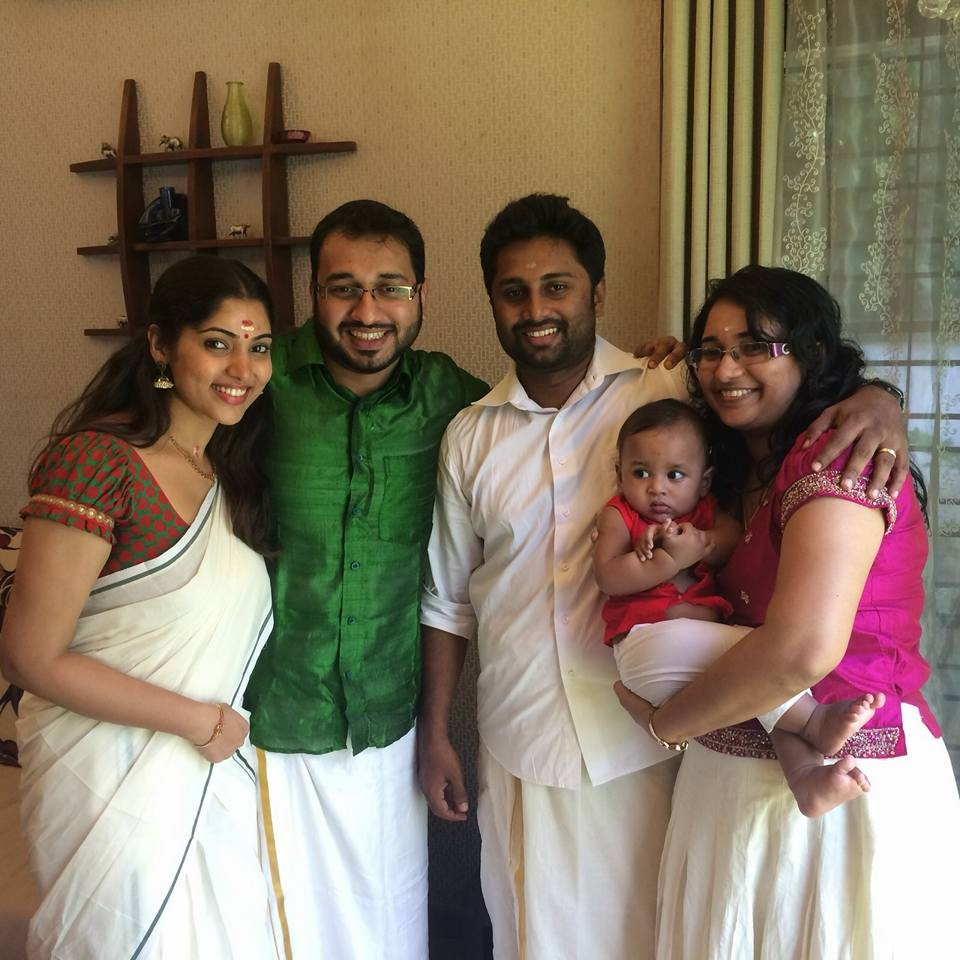Muktha,Muktha rinku wedding,Muktha onam,muktha onam celebration photos,Muktha wedding photos