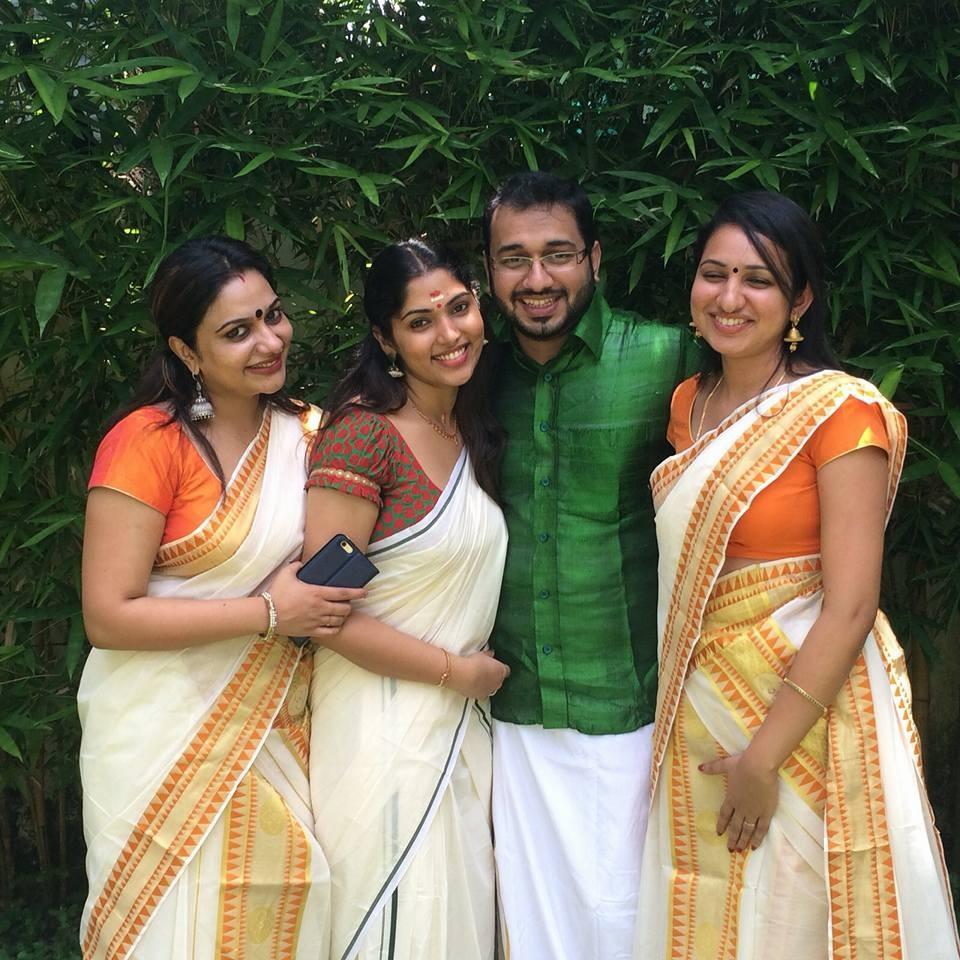 Muktha,Muktha rinku wedding,Muktha onam,muktha onam celebration photos,Muktha wedding photos