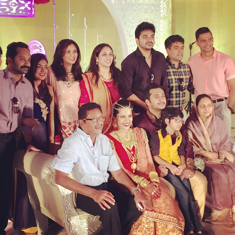Fahadh faasil,nazriya nazim,Farhaan Faasil,fahadh faasil cousin wedding,fahadh faasil cousin wedding photos,fahadh nazriya