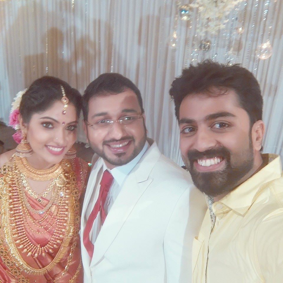Muktha,muktha wedding reception,muktha reception photos,muktha rinku wedding reception