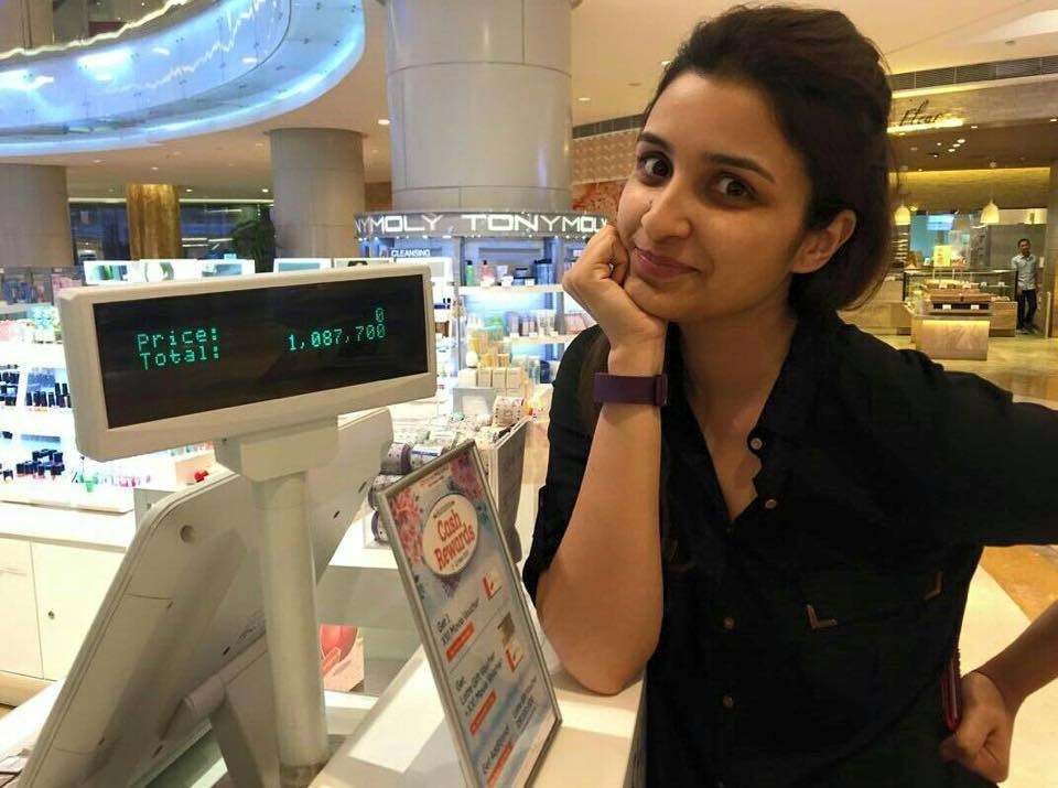 Parineeti chopra 1 million shirts,parineeti chopra trolled,Parineeti Chopra Buys 2 Shirts for 1 Million,viral parineeti chopra photo,parineeti busy for 1 million,parineeti in jakarta