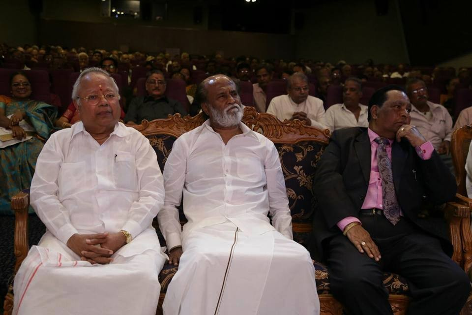 Rajinikanth,Superstar Rajinikanth,Rajinikanth at Rm Veerappan's 90th Birthday Celebrations,Rm Veerappan's 90th Birthday Celebrations,Rm Veerappan,Rajinikanth latest pics,Rajinikanth latest images,Rajinikanth latest stills,Rajinikanth latest pict