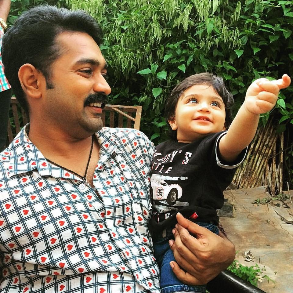 Asif ali,asif ali son,asif ali son adam,asif ali son photos,Adorable kids,malayalam actors and kids,adorable celebrity kids