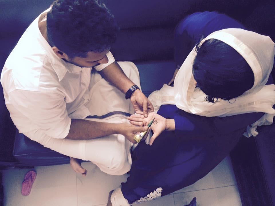 Aashiq Abu,rima kallingal,rima kallingal eid,eid 2015,eid celebrations,rima kallingal aashiq abu