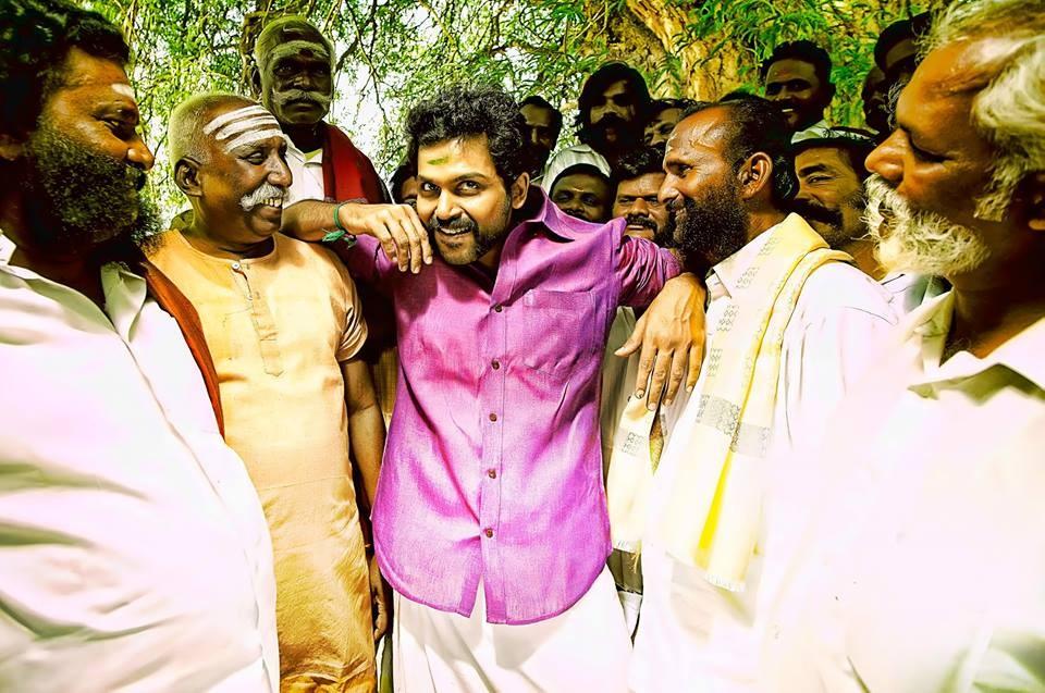 Karthi in 'Komban'
