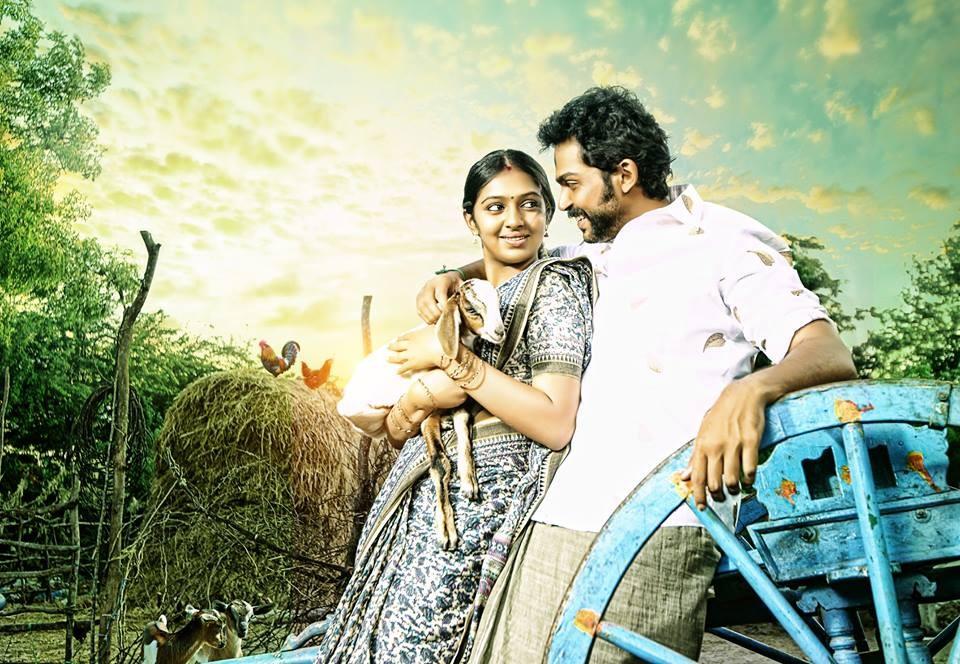 Karthi,lakshmi menon,komban,komban photos,komban posters
