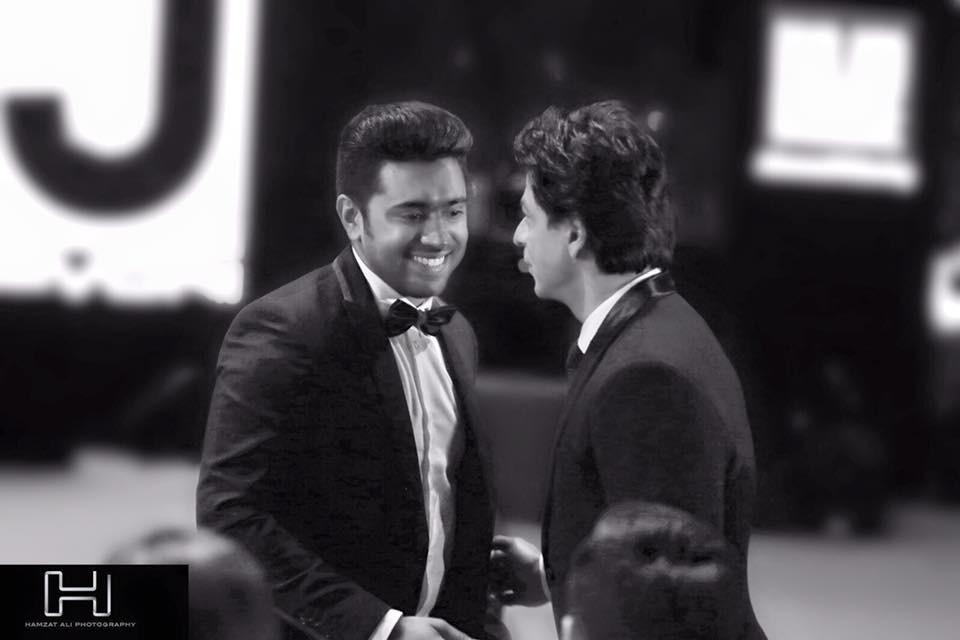 Nivin Pauly,Nivin Pauly filmfare,Nivin Pauly meets SRK,Nivin Pauly meets Shah Rukh