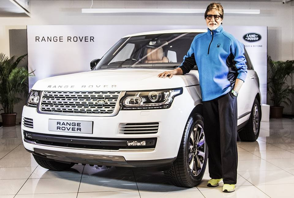 Amitabh Bachchan,Amitabh Bachchan cars,Big B,Range Rover,Land Rover,amitabh bachchan cars collection photos,amitabh bachchan cars photos,amitabh bachchan cars list,amitabh bachchan cars name,big b car collection,BIG B range rover,Range Rover Autobiography