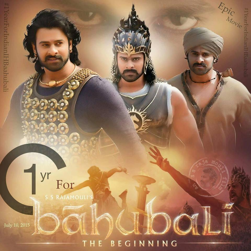 Baahubali,Baahubali one year,one year of Baahubali,S.S. Rajamouli,Prabhas,Rana Daggubati,Anushka Shetty,Tamannaah,Ramya Krishnan,Sathyaraj,Nassar