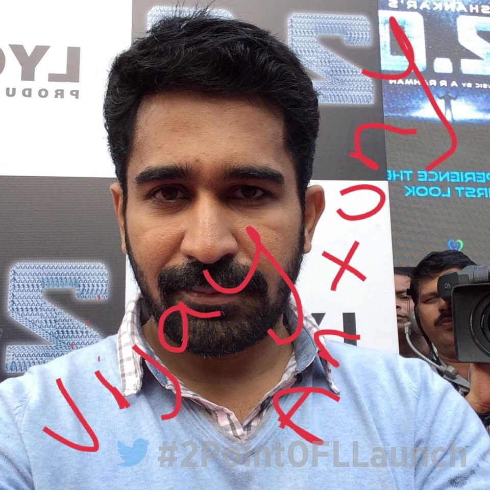 Vijay Antony,actor Vijay Antony,Vijay Antony at 2.0 first look launch,Celebs at 2.0 first look launch,2.0 first look launch,2.0 first look,2.0 poster
