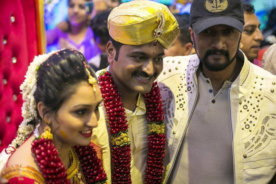 Sudeep,Rakshith Shetty,Sheetal Shetty,Rashimika Mannar,Yajna Shetty,Meghana Gaonkar,Samyuktha Hegde,Rishab Shetty wedding,Rishab Shetty wedding pics,Rishab Shetty wedding images,Rishab Shetty wedding photos,Rishab Shetty wedding stills,Rishab Shetty weddi