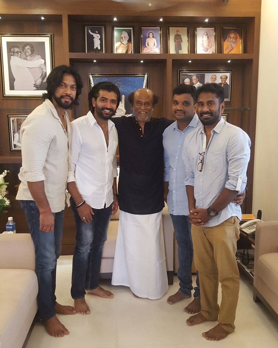 Kuttram 23,Superstar Rajinikanth,Rajinikanth,Kuttram 23 success,Kuttram 23 success meet,Kuttram 23 movie success,Arun Vijay