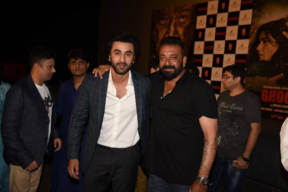 Sanjay Dutt,Ranbir Kapoor,Aditi Rao Hydari,Bhoomi Trailer launch,Bhoomi Trailer,Bhoomi Trailer launch pics,Bhoomi Trailer launch images,Bhoomi Trailer launch stills,Bhoomi Trailer launch pictures,Bhoomi Trailer launch photos