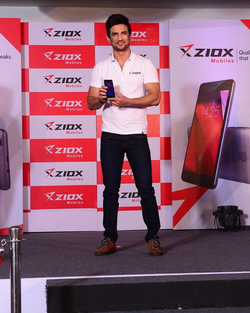 Sushant Singh Rajput,Sushant Singh,Sushant Singh launches Duopix F1 mobile,Duopix F1,Duopix F1 mobile,Duopix F1 mobile with dual-selfie cameras
