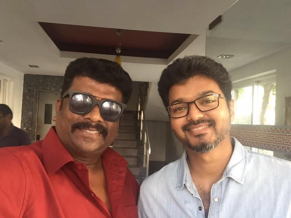 Image result for actor parthiban with vijay