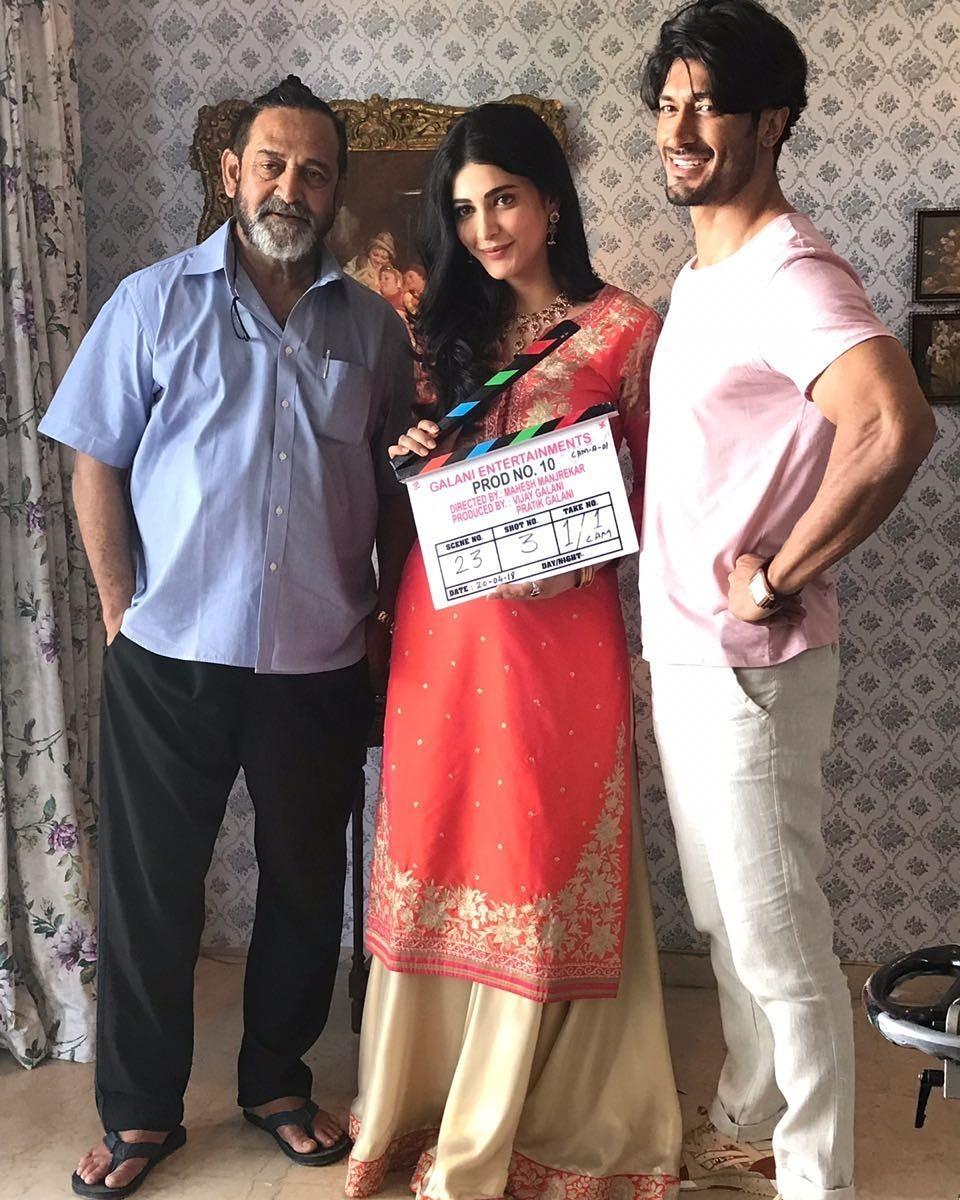 Vidyut Jamwal and Shruti Haasan,Vidyut Jamwal,Shruti Haasan,Mahesh Manjrekar,Vidyut Jamwal new movie,Vidyut Jamwal pics,Vidyut Jamwal images