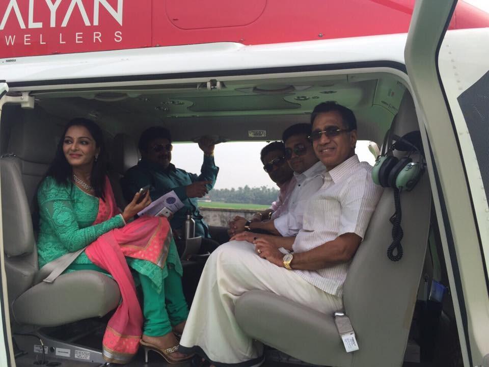 Manju Warrier, T S Kalyanaraman