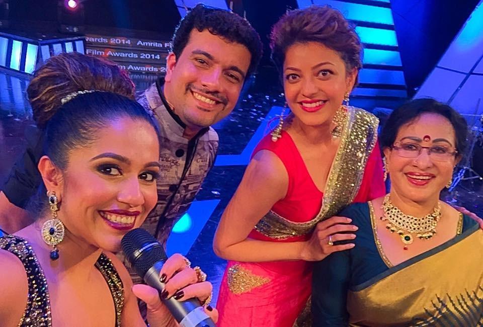 Ranjini Haridas, Ramesh Pisharody, Kajal Aggarwal and Sheela