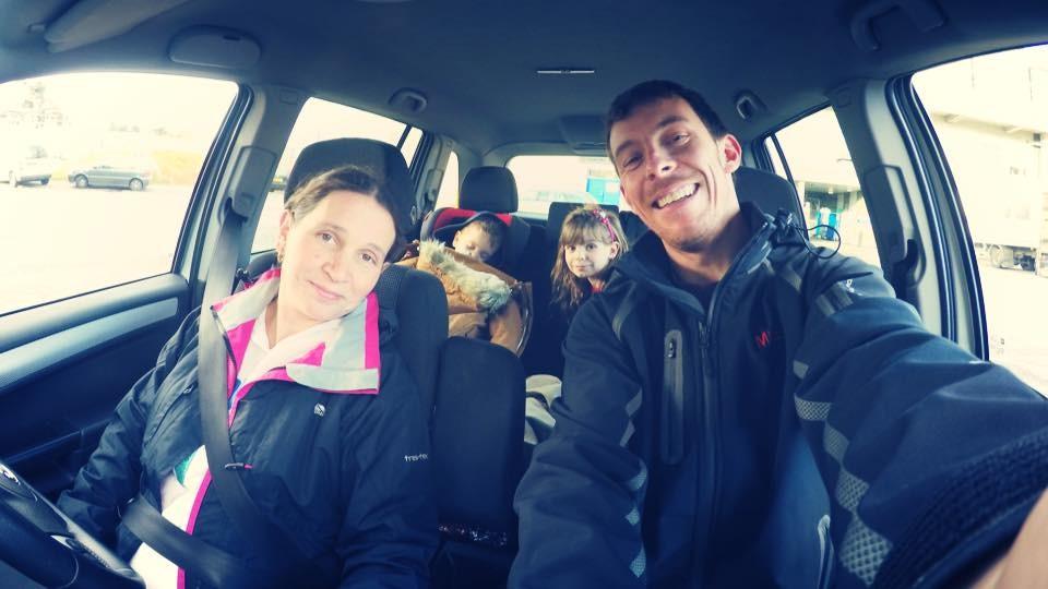 Jayden Wilson and his family
