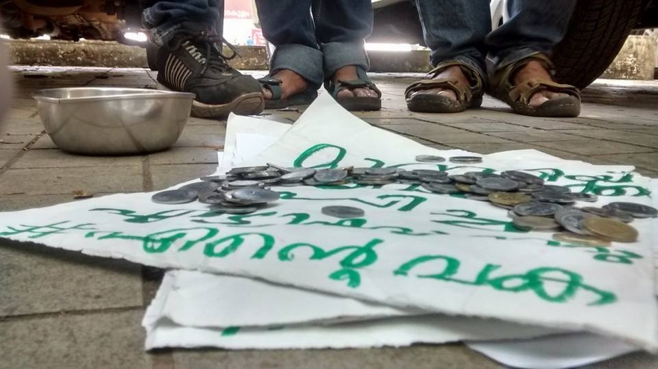 #Entevaka500: Protests against KM Mani in Kochi