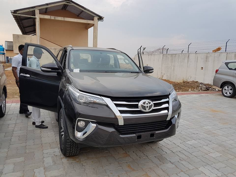 New Toyota Fortuner starts arriving at dealerships ahead of November launch