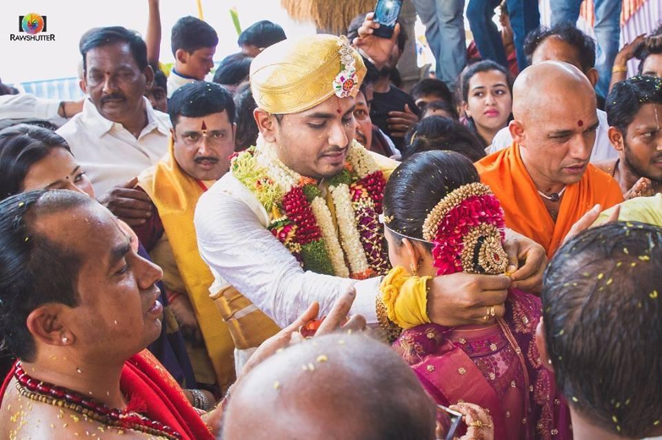 Amulya ties the knot with Jagadish
