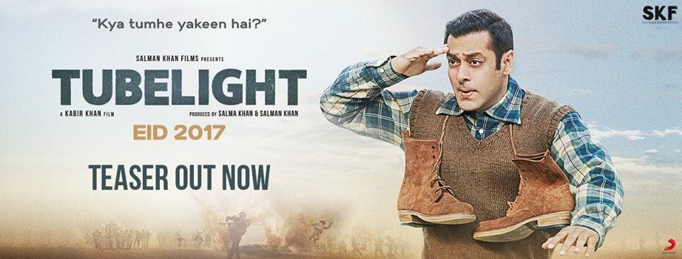 Salman Khan, tubelight