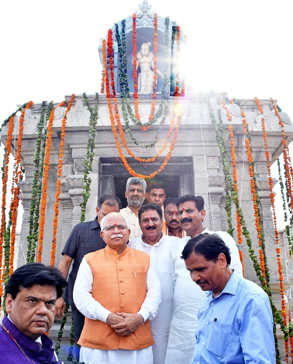 Lord Venkateshwara temple,Kurukshetra,Tirupati Balaji Temple,Tirupati Balaji,Tirupati Balaji Temple in Kurukshetra,TTD,CM Manohar Lal Khattar