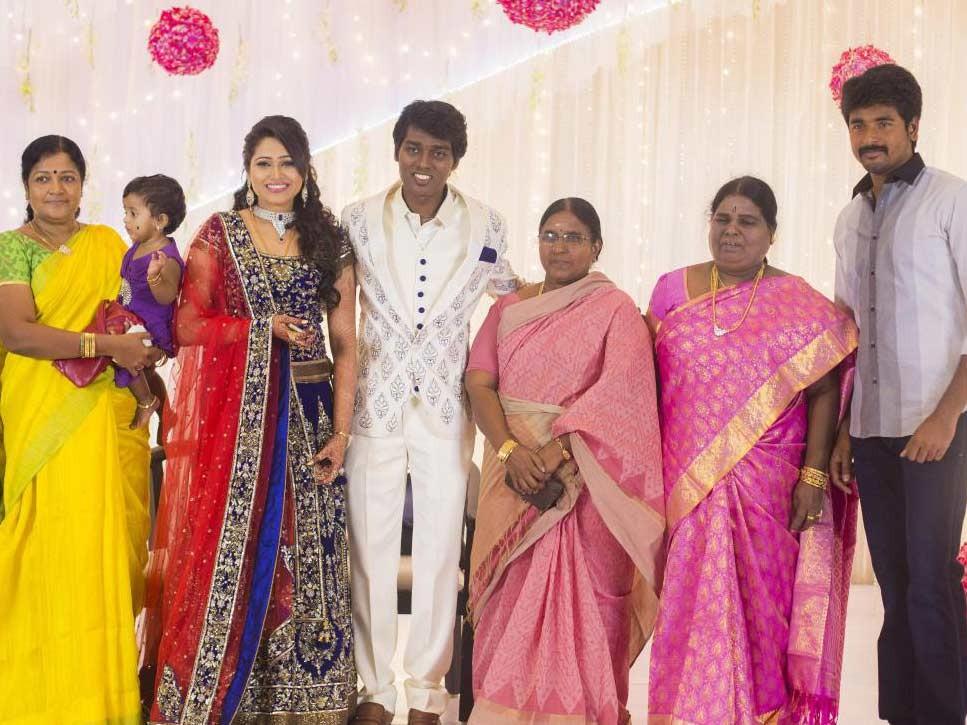 Sivakarthikeyan at Atlee-Krishna Priya's Wedding Reception