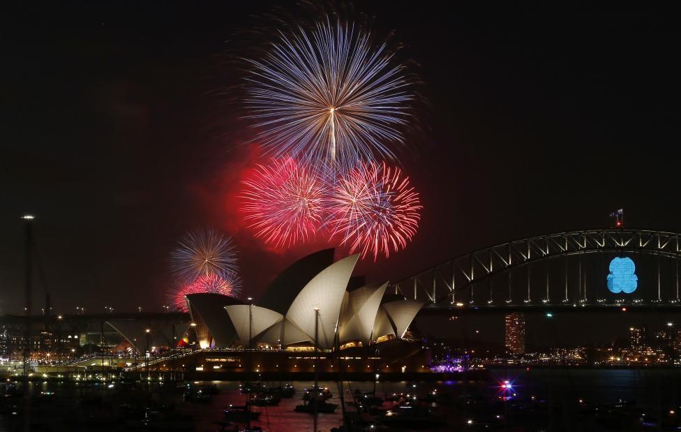 Sydney New Year's Eve Fireworks