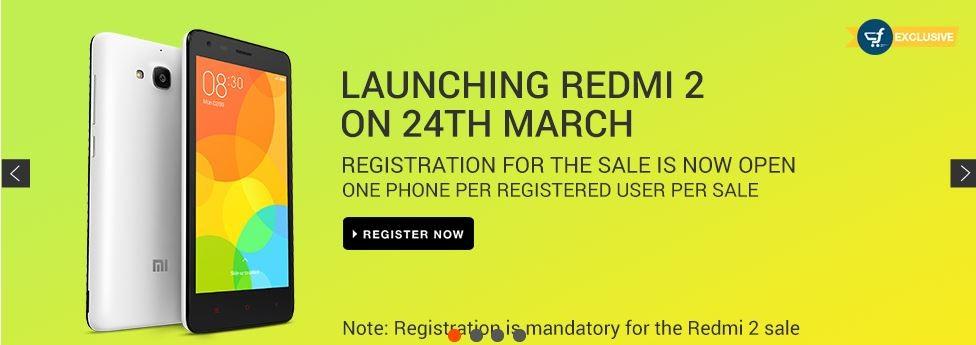 Xiaomi Redmi 2, Mi4 (64GB) Flipkart Flash Sale to Go Live on 24 March