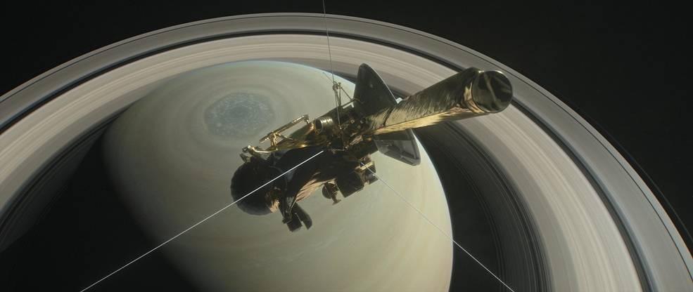 nasa, Cassini, spacecraft,  Saturn,