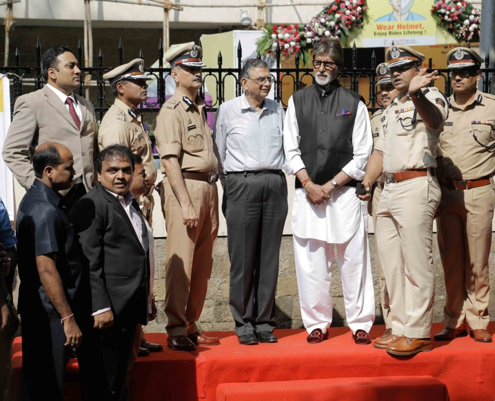 Amitabh Bachchan,actor Amitabh Bachchan,Amitabh Bachchan inaugurates road safety week,28th road safety week,road safety week,Amitabh Bachchan latest pics,Amitabh Bachchan latest images,Amitabh Bachchan latest photos,Amitabh Bachchan latest stills,Amitabh