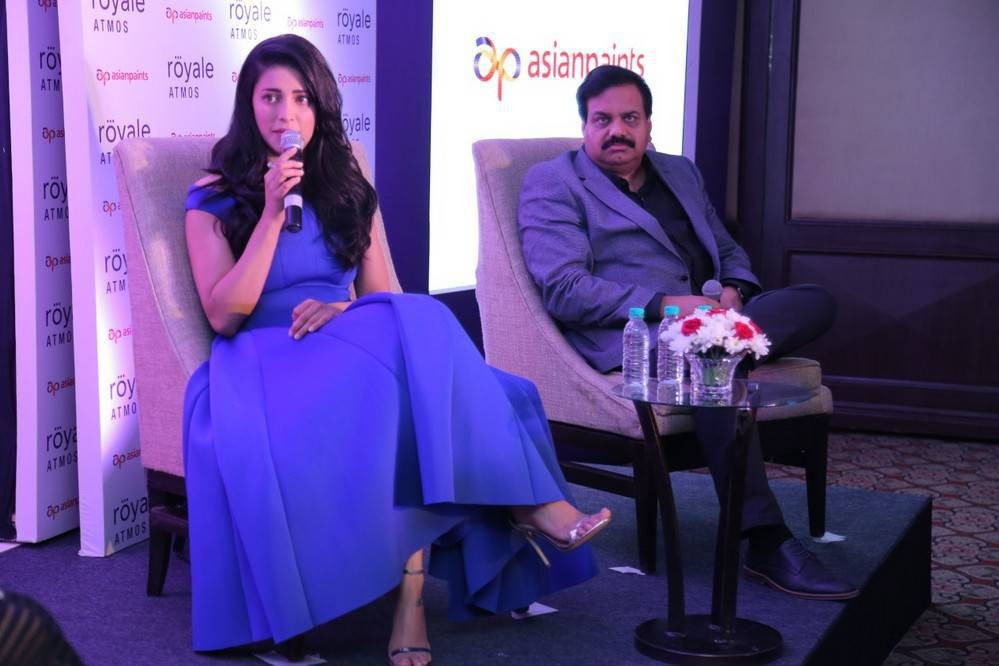 Shruti Haasan,Asian Paints Royale Atmos launch,Asian Paints,Shruti Haasan latest pics,Shruti Haasan latest images,Shruti Haasan latest photos,Shruti Haasan latest stills,Shruti Haasan latest pictures