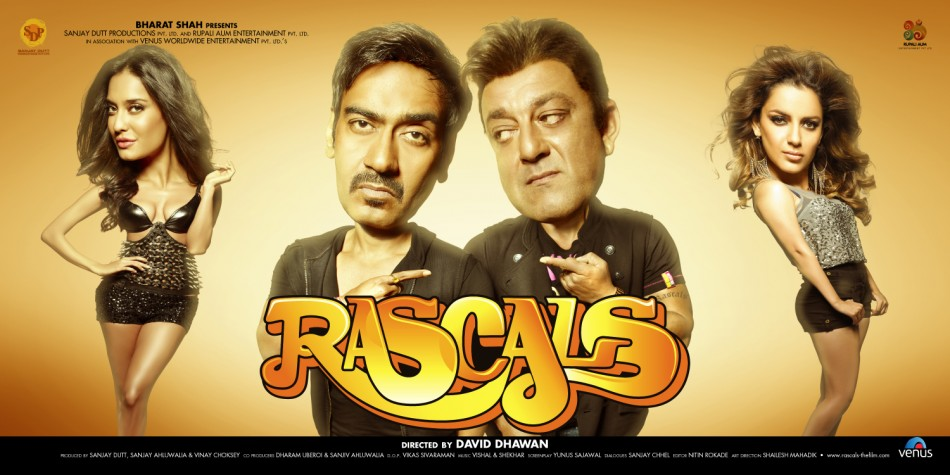 Movie Review: 'Rascals' Sanjay Dutt and Ajay Devgn Return ...