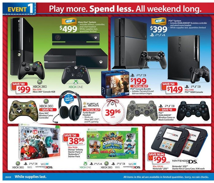 Best Black Friday 2019 Gaming Deals At Walmart: PS4 Pro ...