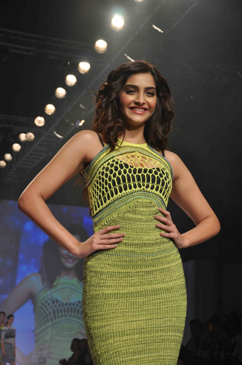 In Pictures Showstopper Sonam Kapoor Walks The Ramp In Figure