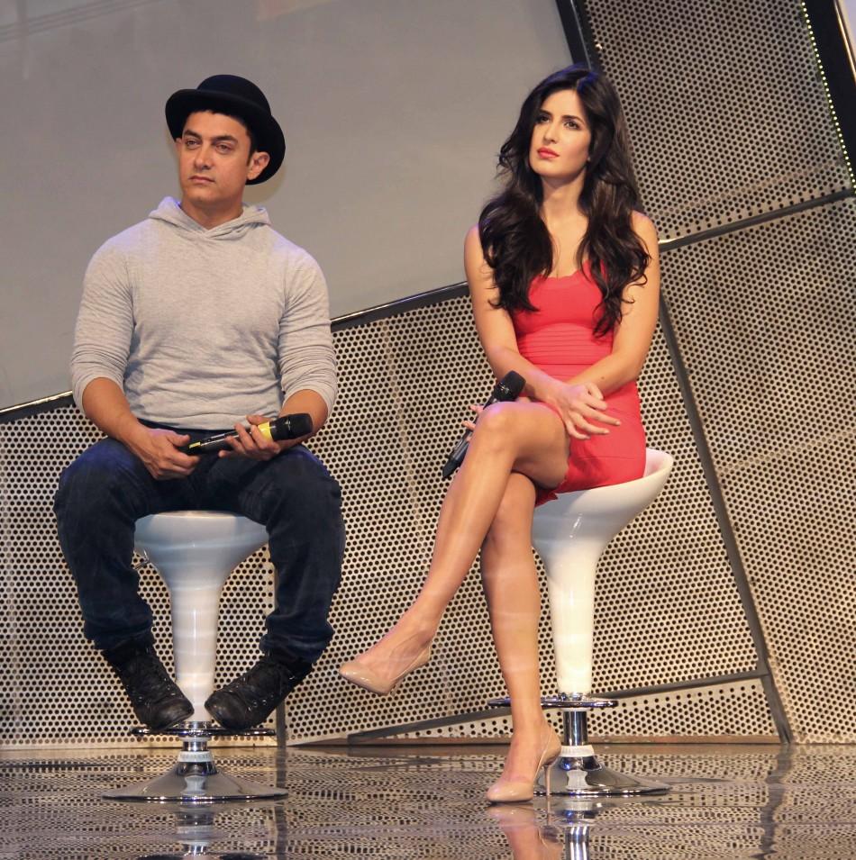Dhoom 3 Aamir Khan And Katrina Kaif Launch Their -9190