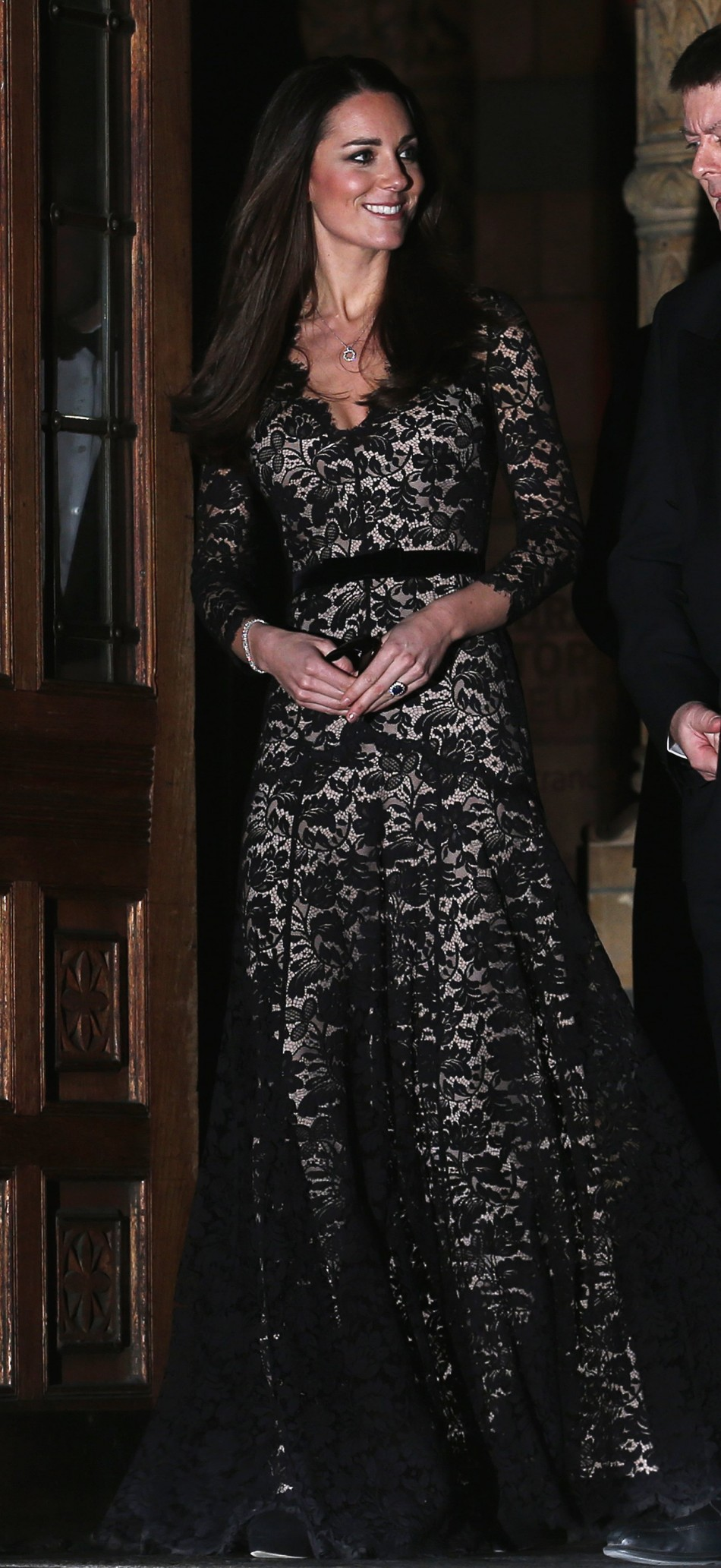 Kate Middletons Revealing Dress Exposes Tiny Baby Bump -5845